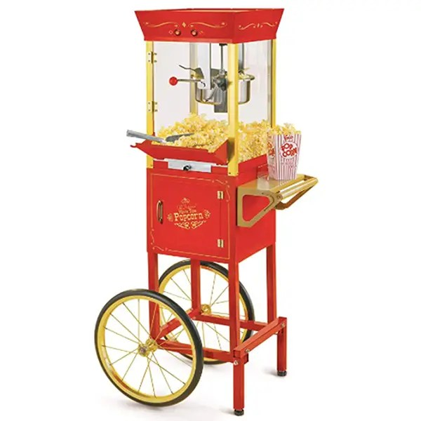 popcorn concession cart