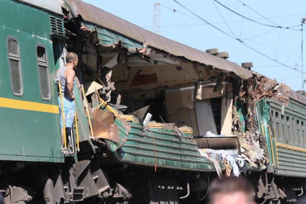 Znalezione obrazy dla zapytania zderzenie pociągów w Moskwie