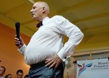 Amerykański gwiazdor podał w programie, że Korwin-Mikke nie żyje! W studio salwy śmiechu!