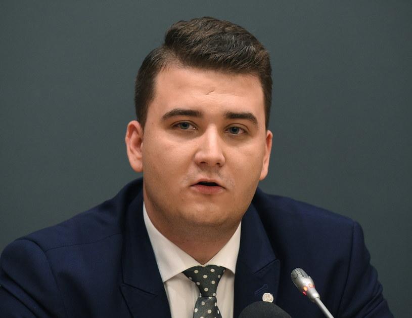 Bartłomiej Misiewicz /Radek Pietruszka /PAP