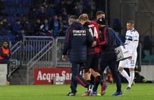 Cagliari - Atalanta 0-1 w 22. kolejce Serie A. Reca na ławce, Zapata bez gola