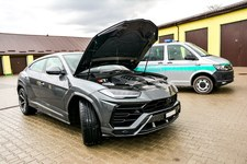 Chciał wywieźć na Ukrainę Lamborghini za 1,4 mln zł