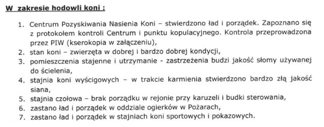 Fragment jednego z dokumentów, do których dotarł dziennikarz RMF FM /