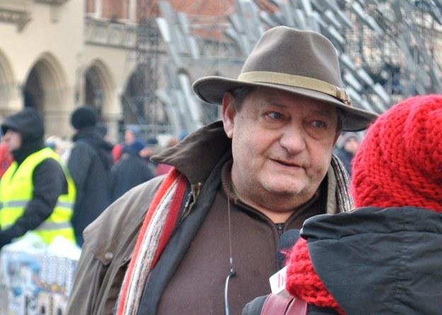 Jan Kościuszko - organizator Wigilii dla Potrzebujących /Jolanta Kamińska /materiały prasowe/INTERIA