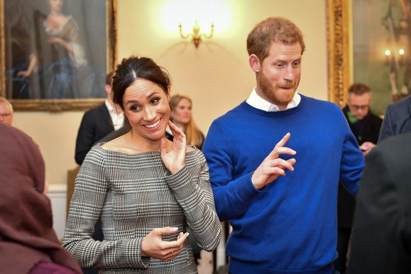 Książę Harry i Meghan Markle /AFP