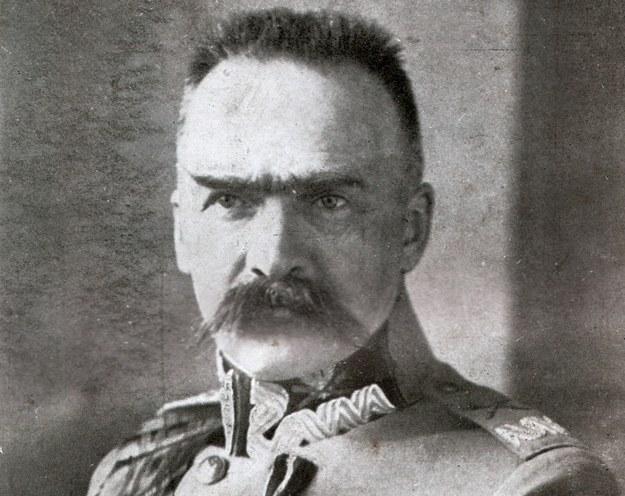 Marszałek Józef Piłsudski /repr. Piotr Mecik /Agencja FORUM