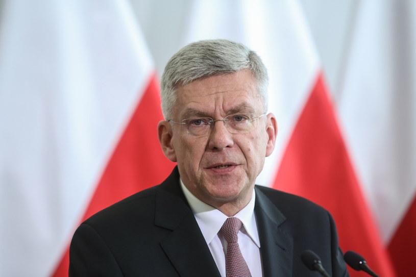 Marszałek Senatu Stanisław Karczewski /Rafał Guz /PAP