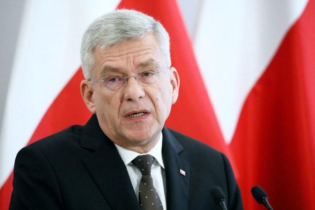 Marszałek Senatu Stanisław Karczewski /Piotr Molecki /East News