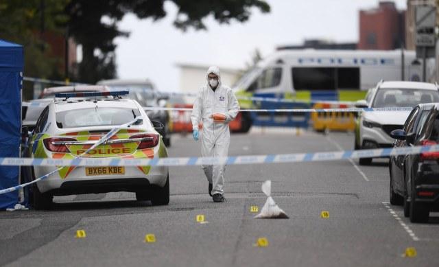 Policja szuka nożownika, który zaatakował w Birmingham