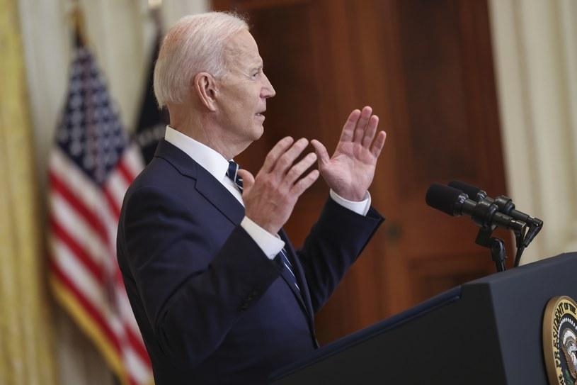 Prezydent USA Joe Biden /Oliver Contreras /PAP/EPA