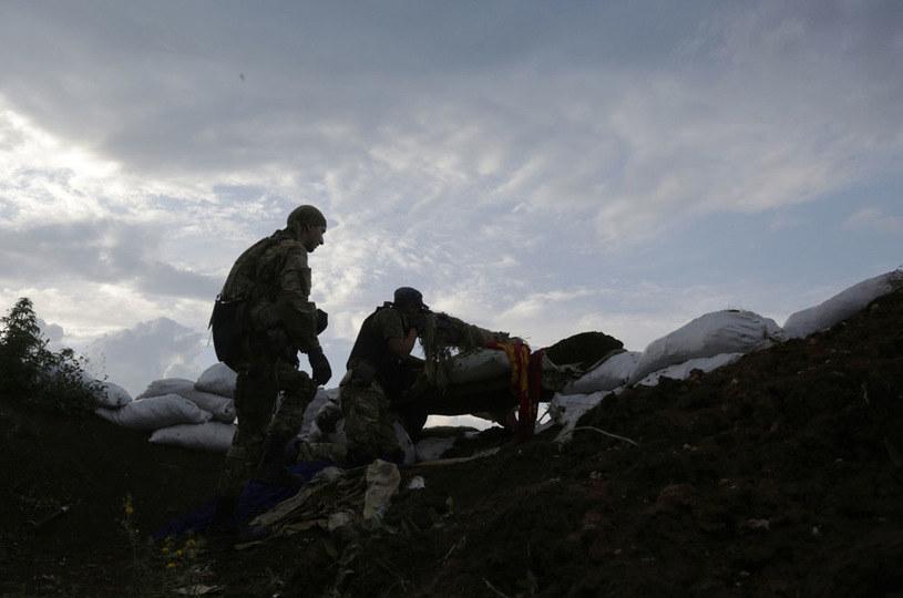 Rośnie liczba cywilnych ofiar konfliktu w Donbasie /AFP