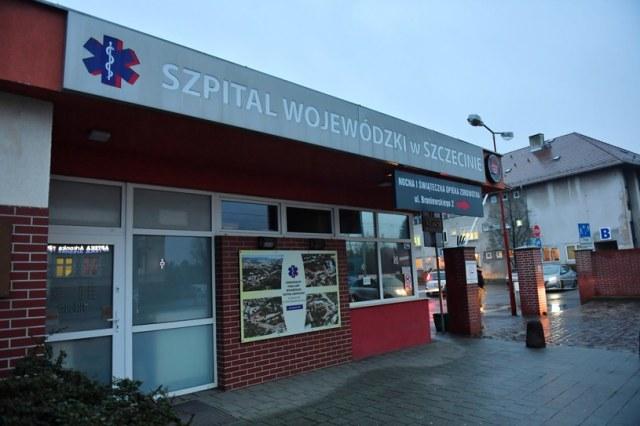 Szpital Wojewódzki w Szczecinie przy ul. Arkońskiej / Marcin Bielecki    /PAP