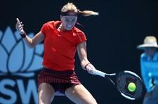 Turniej WTA w Sydney - zwycięstwo Kvitovej