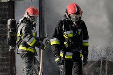 Zielona Góra: Wybuch gazu i pożar na drugim piętrze wieżowca