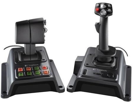 Logitech контроллер авиасимулятор Flight System G940
