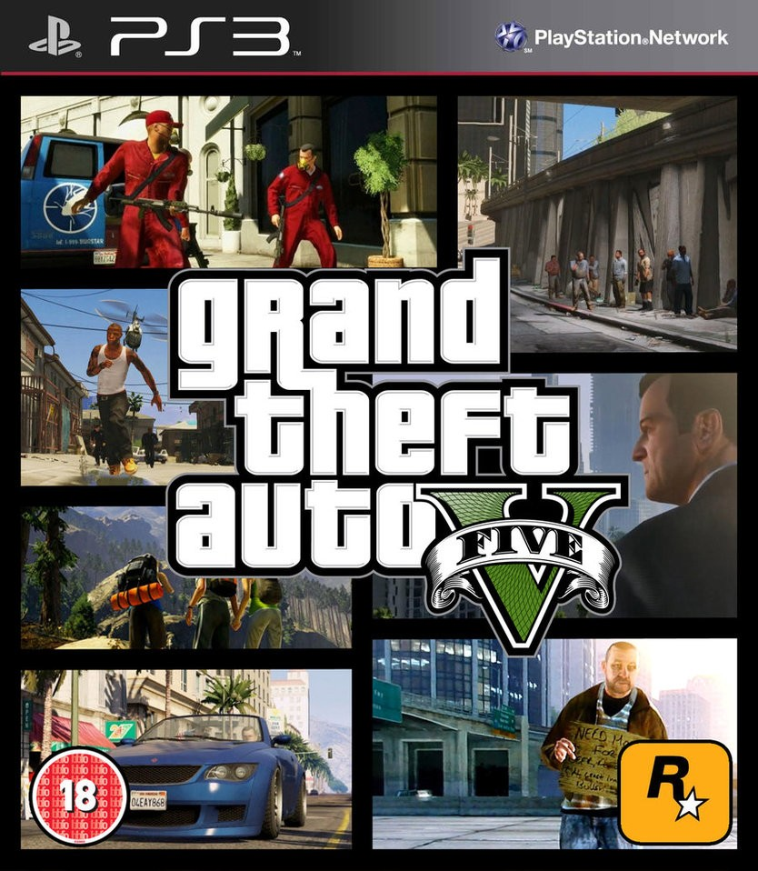 Gta Grand Theft Auto V 5 Ps3: Grand Theft Auto 5 ….Avalaible For CFW PS3 Users…….Thanks