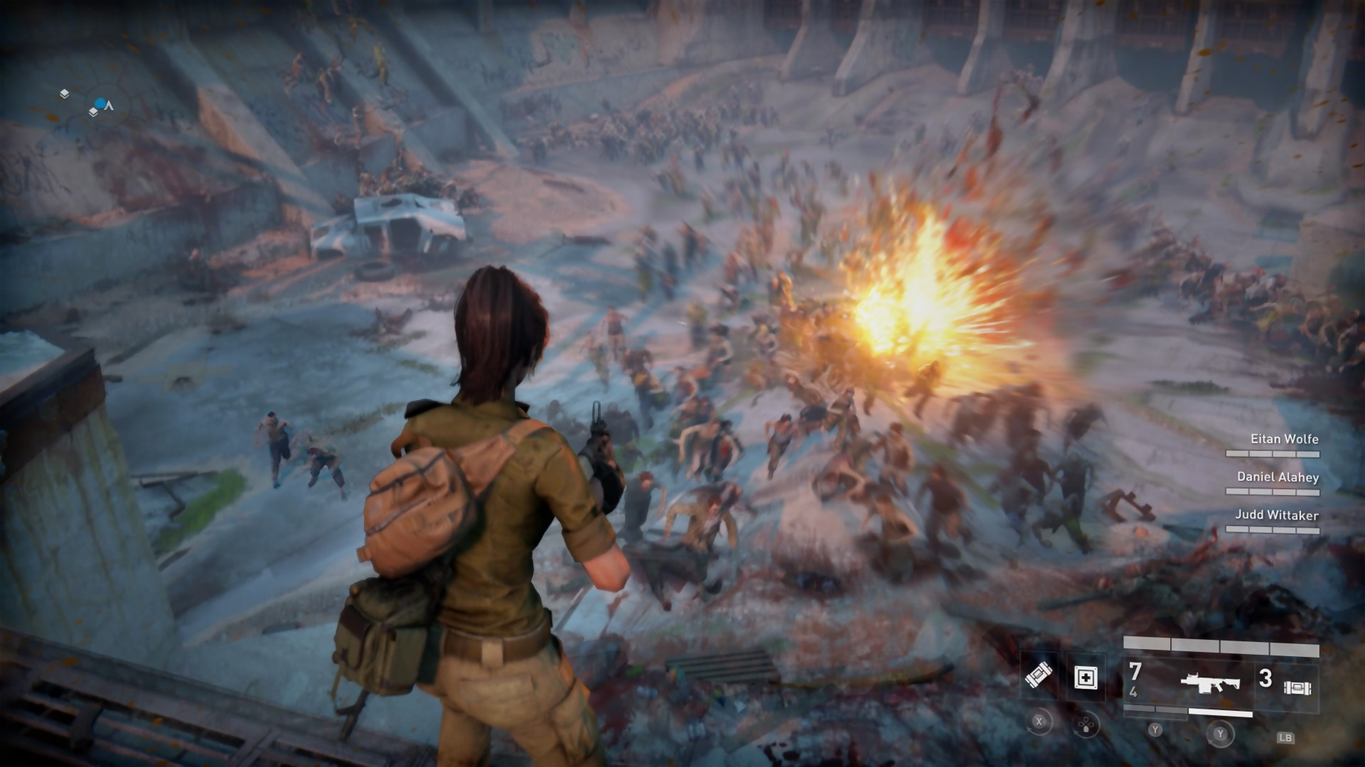 World War Z Trailer De Gameplay De La Horde Des Zombies