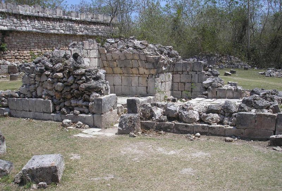 One of the important baptisms for ancient Mayans was a sauna for sweating.