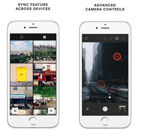 11. VSCO Cam for iOS