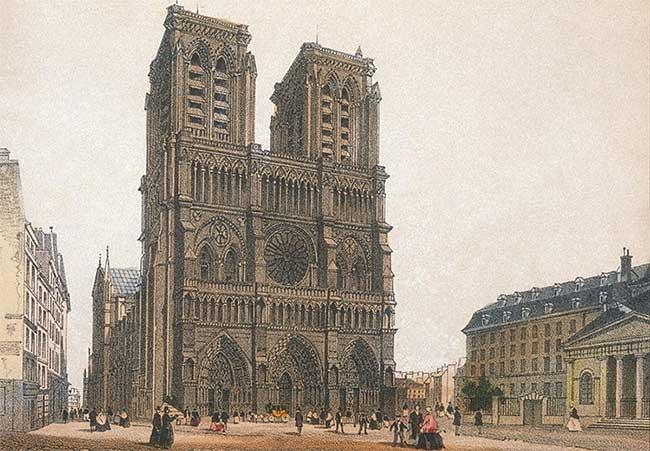 Hoàng đế Napoléon Đệ Nhất đã chọn nơi này làm lễ đăng quang vào năm 1804