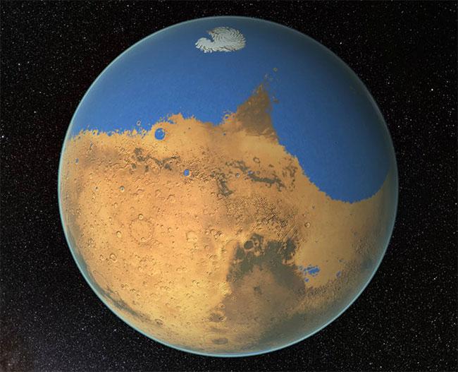 Sao Hỏa trong quá khứ