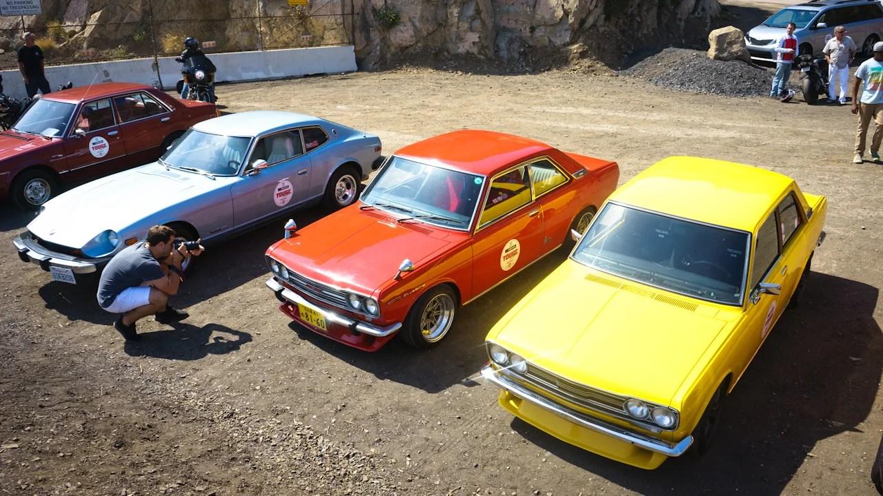 Nissan Z and Bluebird 510s
