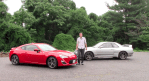 Doud DeMuro with the Scion FR-S and his Nissan Skyline GT-R