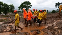 More than 130 people died in India after monsoon rains led to flooding
