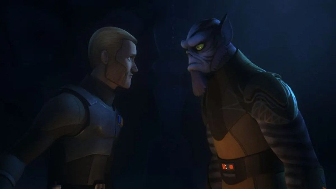 Star Wars Rebels finally embraces its complexity through a Zeb ...