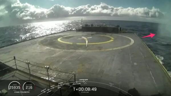 SpaceX falla el que habría sido su aterrizaje número 50