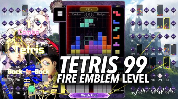 Fire Emblem: Three Houses Crosses Over With Tetris 99 For
