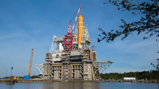 NASA is completing a 'wet dress rehearsal' of its space launch system