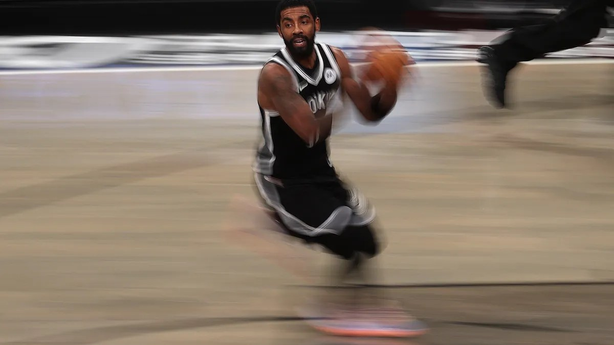 Kyrie Irving reportedly seen partying hard on … a Zoom call for a NYC District Attorney candidate?!