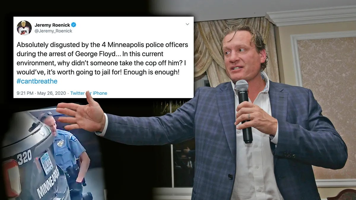 Photo of Reveal the privilege of Jeremy Roenick's well-intentioned Tweet