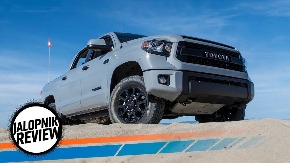 the 2017 toyota tundra trd pro is the