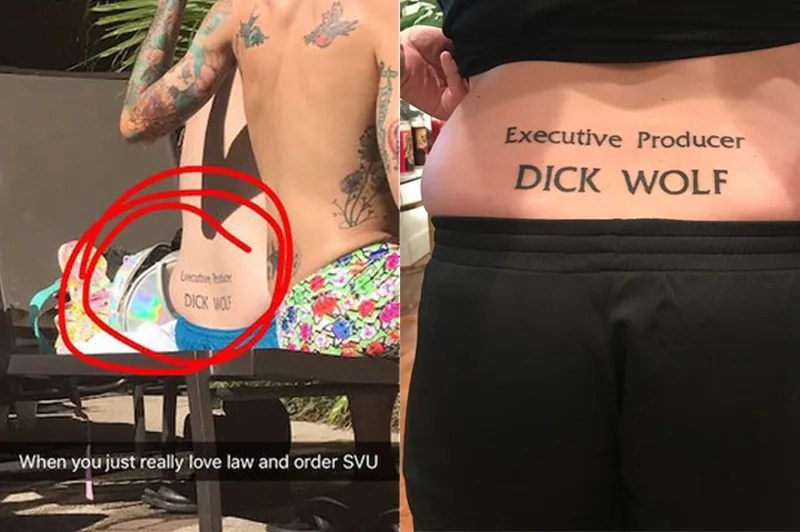 Interview With A Man Who Has A Tramp Stamp That Says Executive