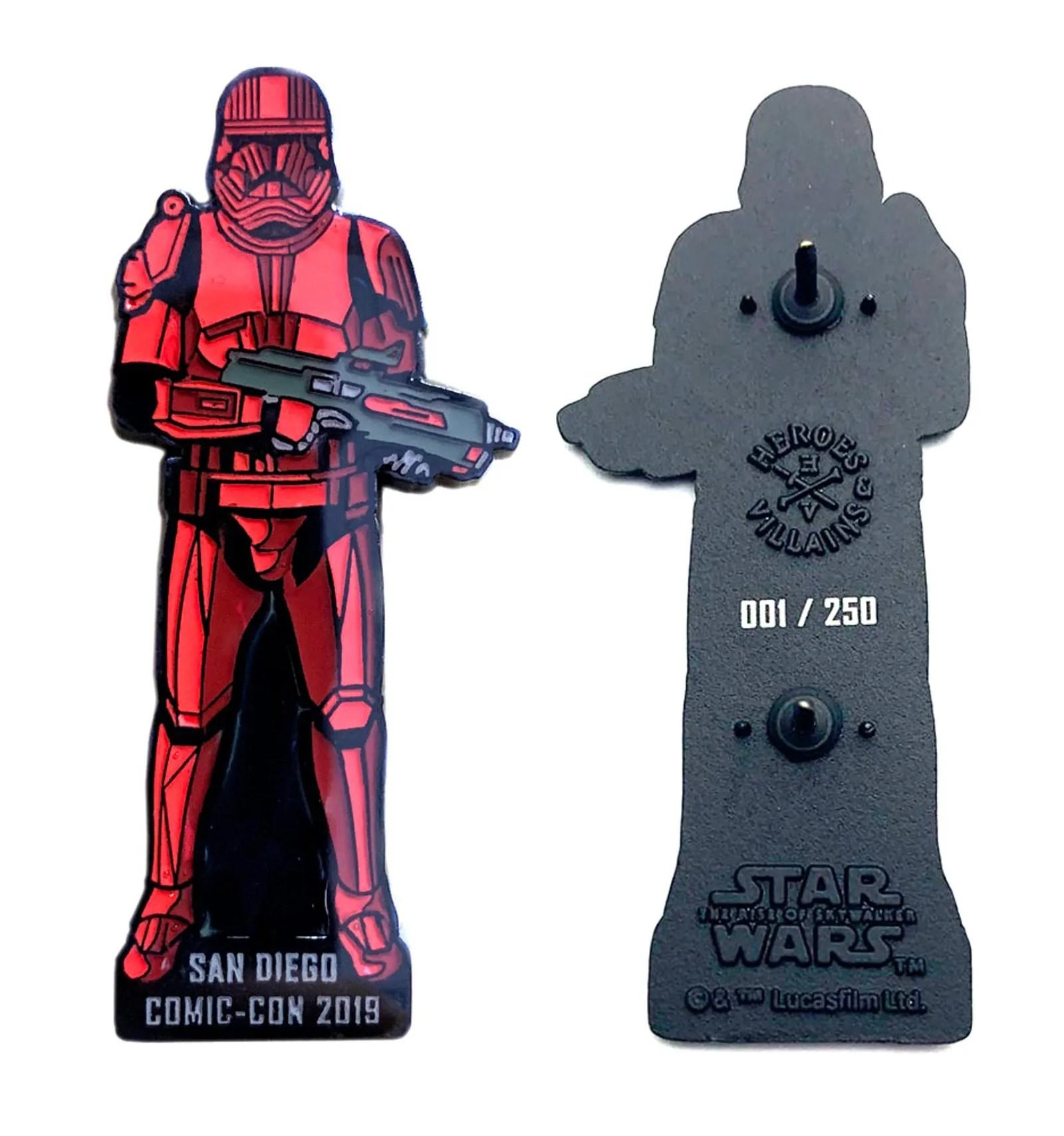 Bioworld Sith Trooper Pin – Primera edición numerada($30)
