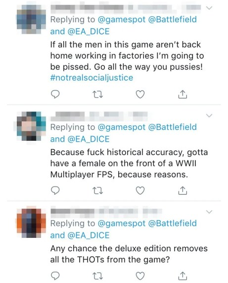 Outraged by the implementation of Women in Battlefield 5 - Tech News -  Linus Tech Tips