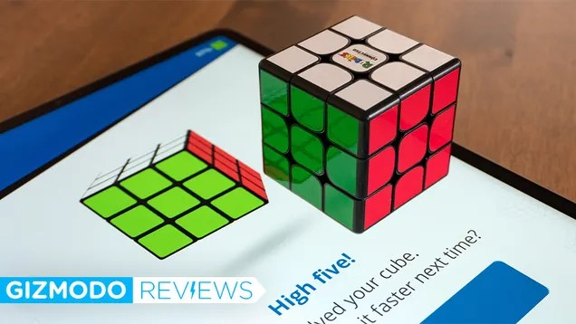 xyq4iywqmphlerz7a4dr This Smart Rubik's Cube Is Teaching Me How to Solve One After 40 Years of Failure   Gizmodo