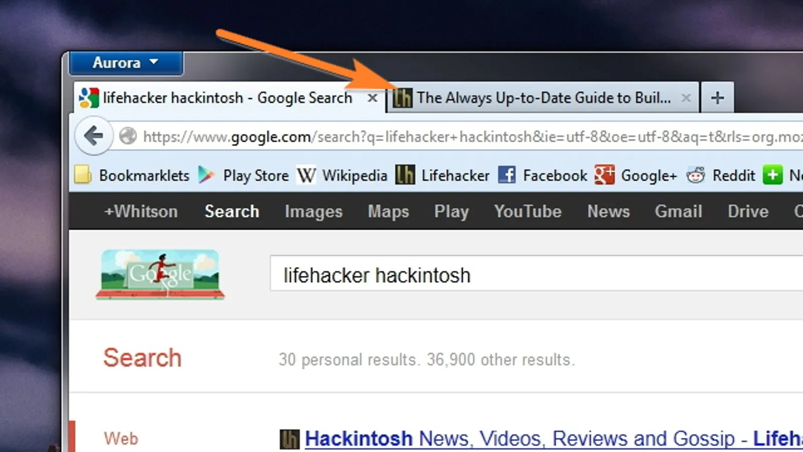 Make Your Google Search Results Always Open In A New Tab