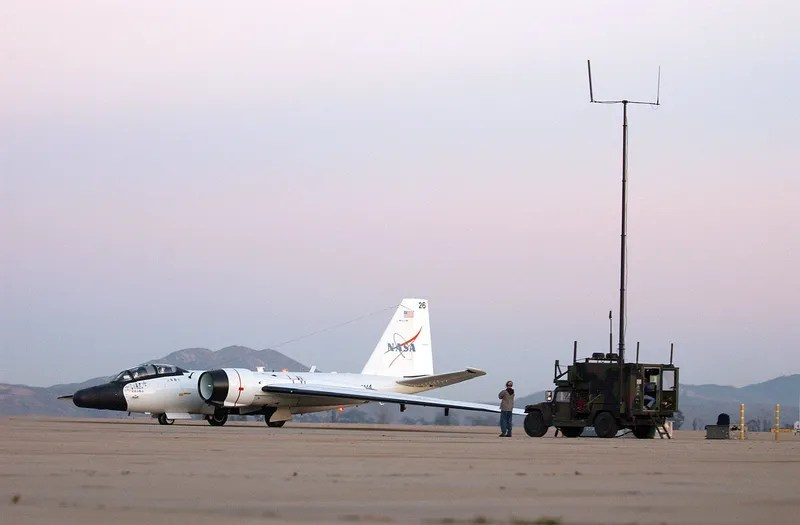 Why There's A NASA Jet At A Massive Military Complex In Africa