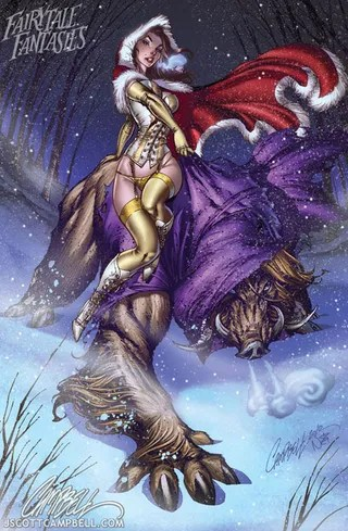 J. Scott Campbell Beauty and the Beast