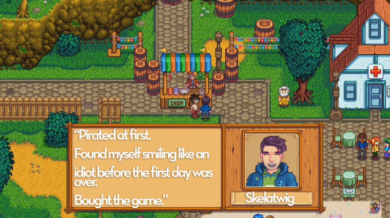 Stardew Valley As Told By Steam Reviews