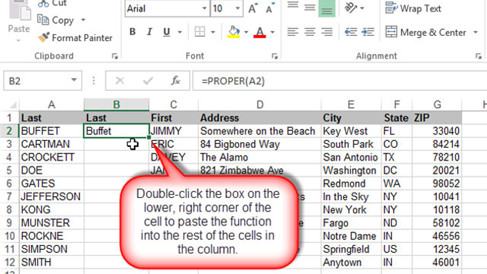 Paste Formulas Or Values Into An Excel Column With A
