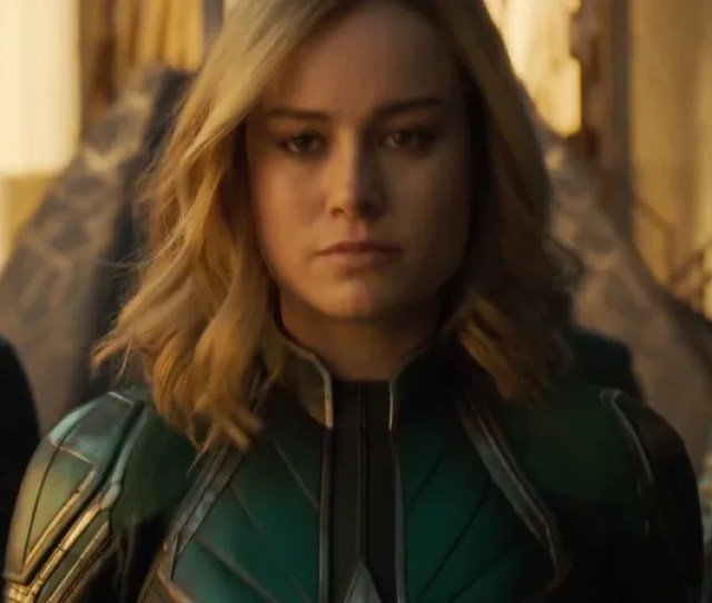 Captain Marvel Is Here So Bow Down To The Queen Photo Disney