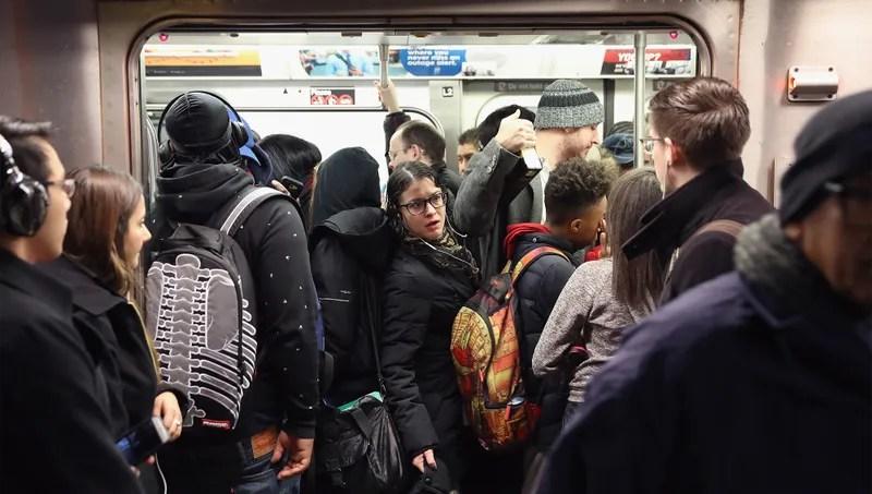 New york train fuck