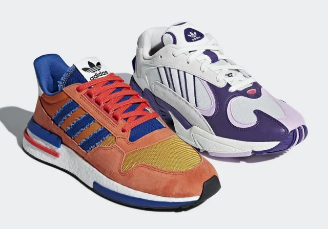 b4778bb142e Adidas  First Two Dragon Ball Sneakers Are Goku   Frieza – News Asia CF
