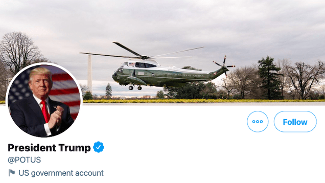 yjlcc3zwzenerwnrxq2t It Doesn't Matter If Trump Never Concedes, Twitter Is Giving @POTUS to Biden | Gizmodo
