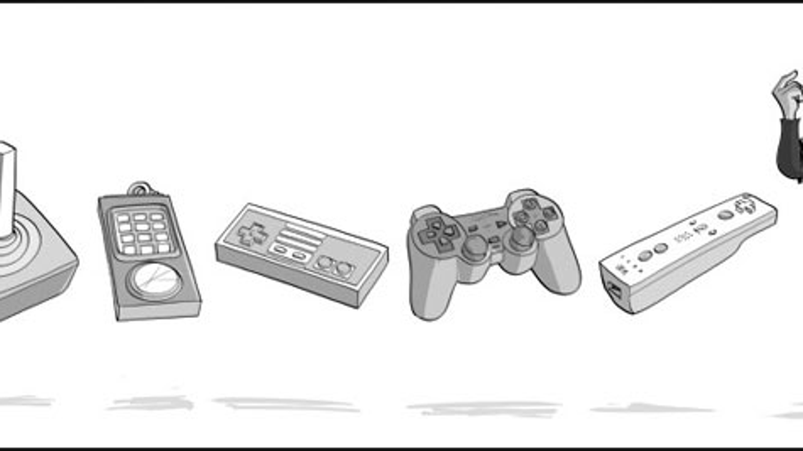 The Evolution Of Game Controllers