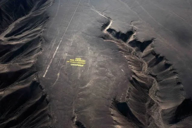 This Greenpeace Stunt May Have Irreparably Damaged Peru's Nazca Site